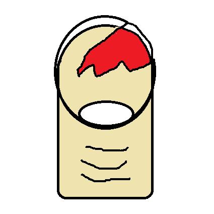 【経験談】爪が剥がれた(割れた)時の処置方法~3つのステップ~